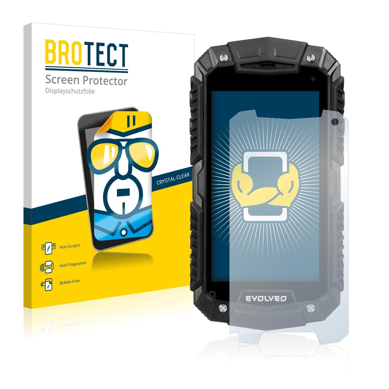 2 ks Ochranná fólie Brotec HD na LCD pro Evolveo StrongPhone D2 Mini