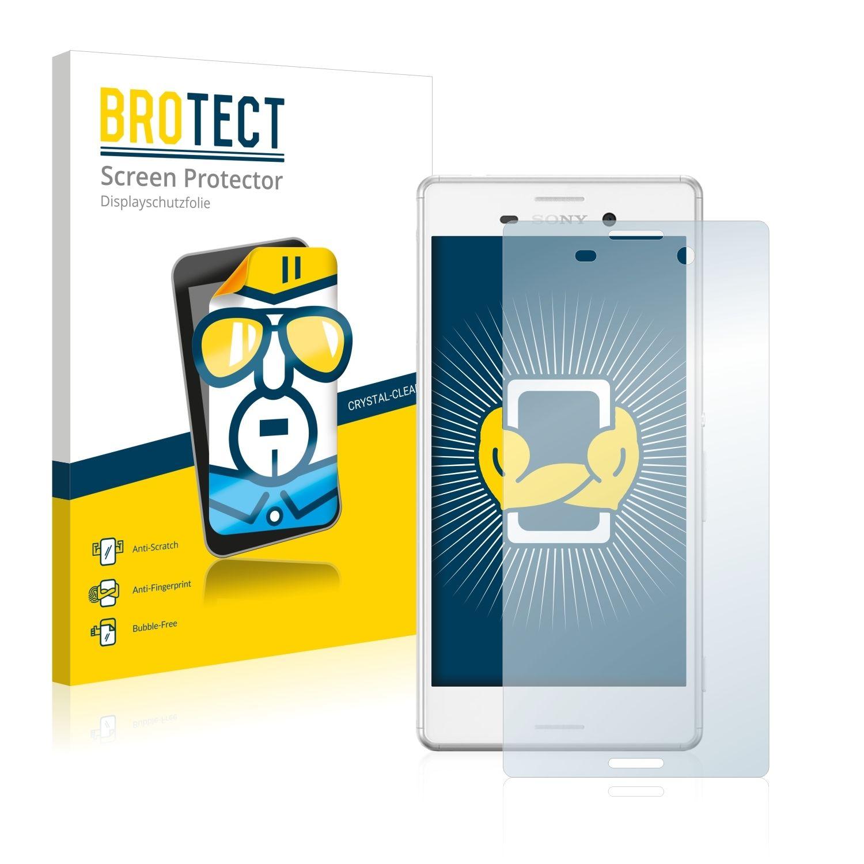 2 ks Ochranná fólie Brotec HD na LCD pro Sony Xperia M4 Aqua (E2303)