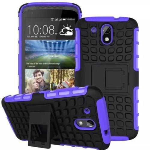 Antishock odolné HYBRID ochranné pouzdro pro Samsung Galaxy Core Prime (G360) - fialové