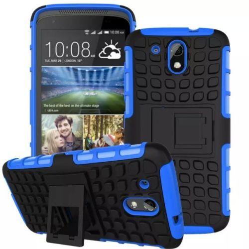 Antishock odolné HYBRID ochranné pouzdro pro Samsung Galaxy Core Prime (G360) - modré