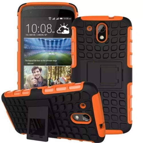 Antishock odolné HYBRID ochranné pouzdro pro Samsung Galaxy Core Prime (G360) - oranžové