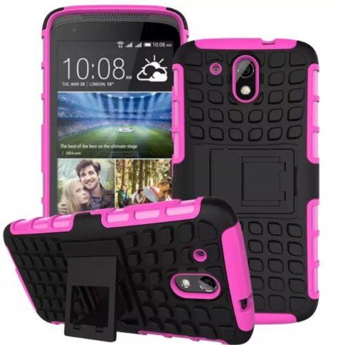Antishock odolné HYBRID ochranné pouzdro pro Samsung Galaxy Core Prime (G360) - růžové