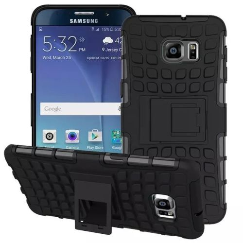 Antishock odolné HYBRID ochranné pouzdro pro Samsung Galaxy S5 mini (SV G800) - černé