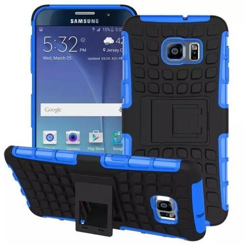 Antishock odolné HYBRID ochranné pouzdro pro Samsung Galaxy S5 mini (SV G800) - modré