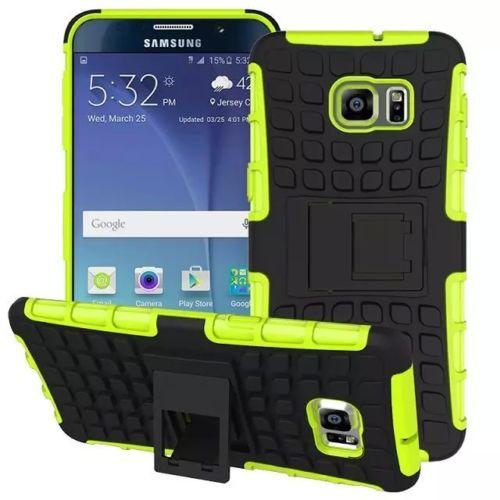 Antishock odolné HYBRID ochranné pouzdro pro Samsung Galaxy S5 mini (SV G800) - zelené