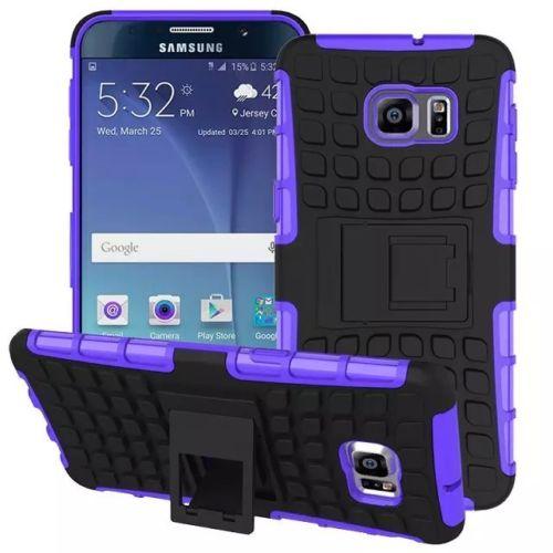 Antishock odolné HYBRID ochranné pouzdro pro Samsung Galaxy S5 Neo (G903F) - fialové