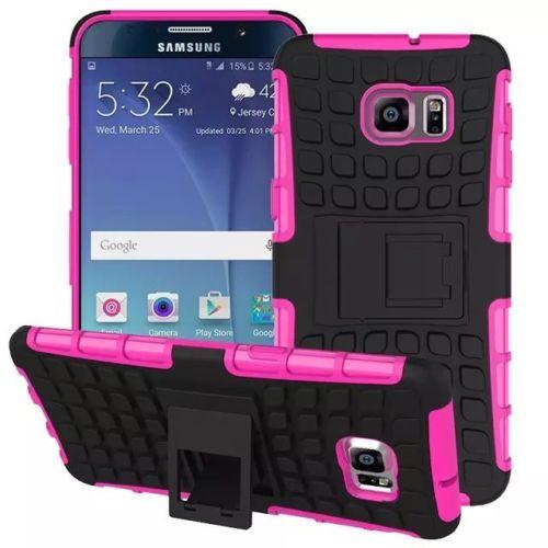 Antishock odolné HYBRID ochranné pouzdro pro Samsung Galaxy S6 Edge+ (SVI G928F) - růžové