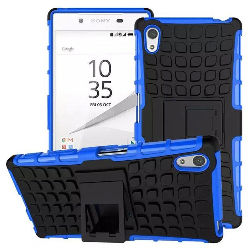 Antishock odolné HYBRID ochranné pouzdro pro Sony Xperia Z5 Premium (E6853) - modré