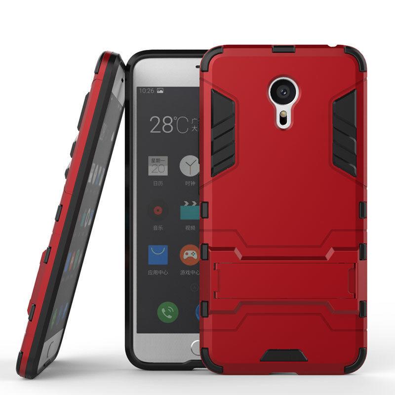 Antishock odolné HYBRID ochranné pouzdro pro Sony Xperia Z5 Premium E6853 - červené