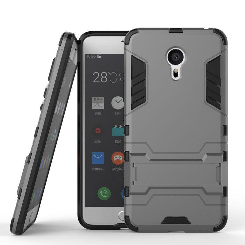 Antishock odolné HYBRID ochranné pouzdro pro Sony Xperia Z5 Premium E6853 - šedé