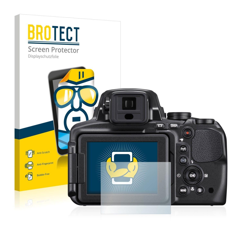 2 ks Ochranná fólie Brotect HD na LCD pro Nikon Coolpix P900