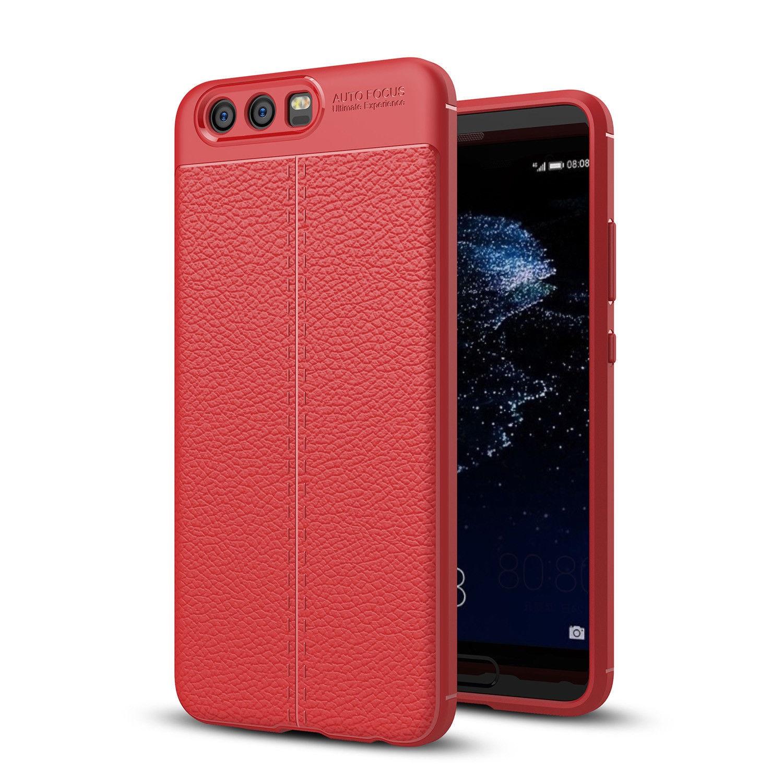 Antishock odolné TPU ochranné pouzdro pro Huawei Honor 9 - červené