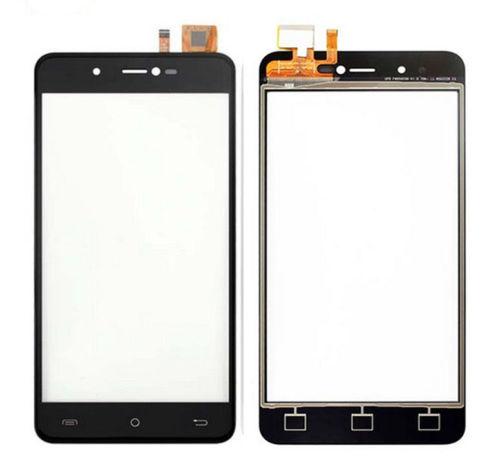 Digitizer - dotykové sklo (plocha) LCD displeje pro Cubot R9 - černý