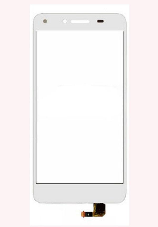 Digitizer - dotykové sklo (plocha) LCD displeje pro Huawei GR3 - bílý
