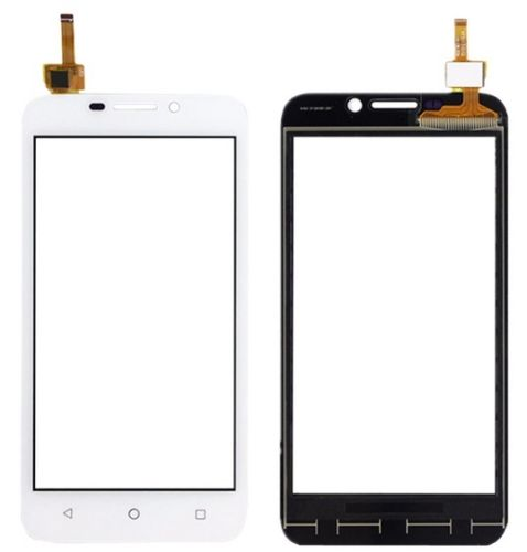 Digitizer - dotykové sklo (plocha) LCD displeje pro Huawei Y5 - bílý