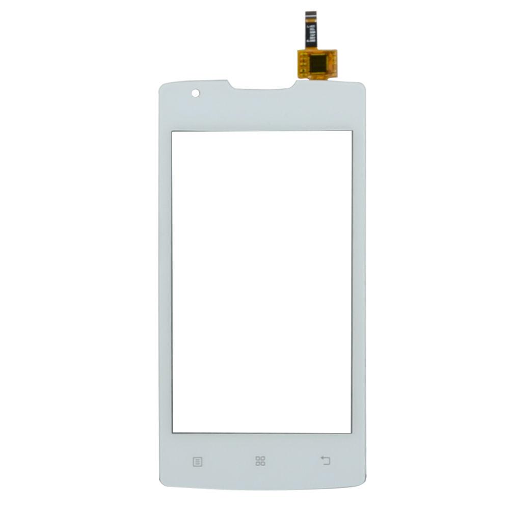 Digitizer - dotykové sklo (plocha) LCD displeje pro Lenovo A1000 - bílý