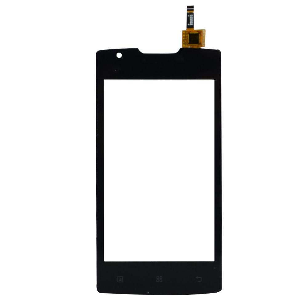 Digitizer - dotykové sklo (plocha) LCD displeje pro Lenovo A1000 - černý