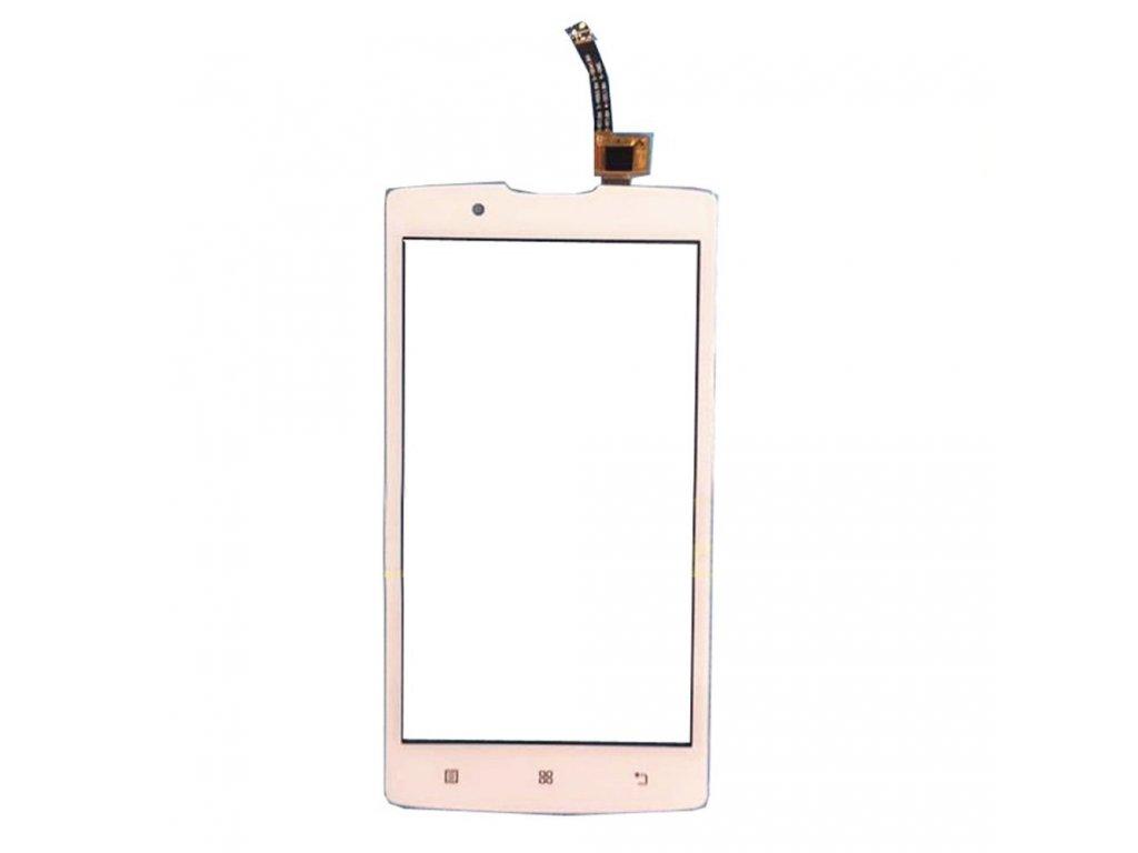 Digitizer - dotykové sklo (plocha) LCD displeje pro Lenovo A2010 - bílý