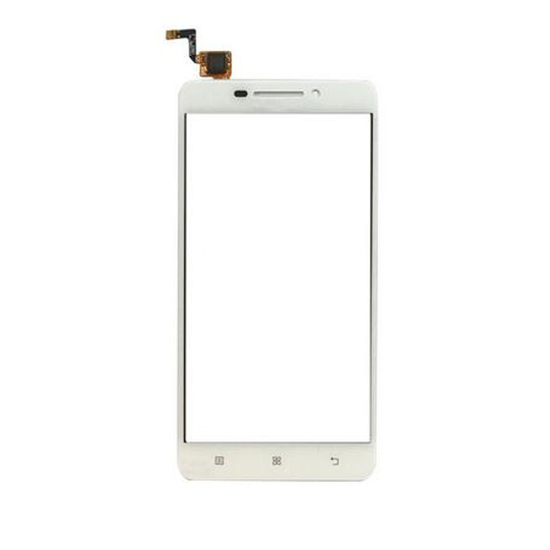 Digitizer - dotykové sklo (plocha) LCD displeje pro Lenovo A5000 - bílý
