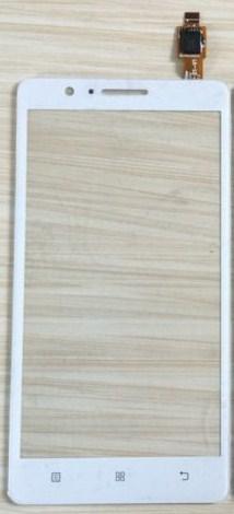 Digitizer - dotykové sklo (plocha) LCD displeje pro Lenovo A536 - bílý
