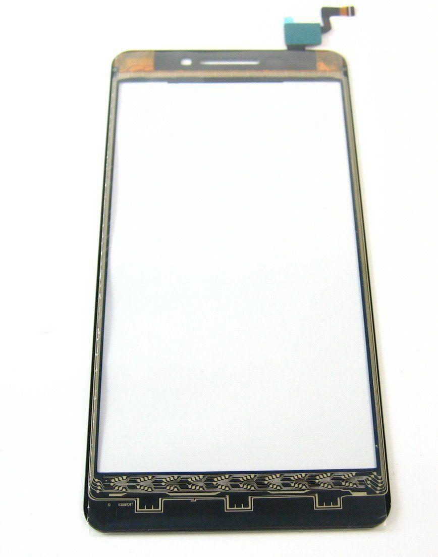 Digitizer - dotykové sklo (plocha) LCD displeje pro Lenovo S60 - bílý