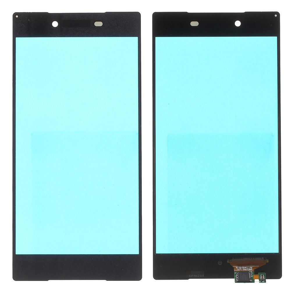 Digitizer - dotykové sklo (plocha) LCD displeje pro Sony Xperia Z5 Premium - černý