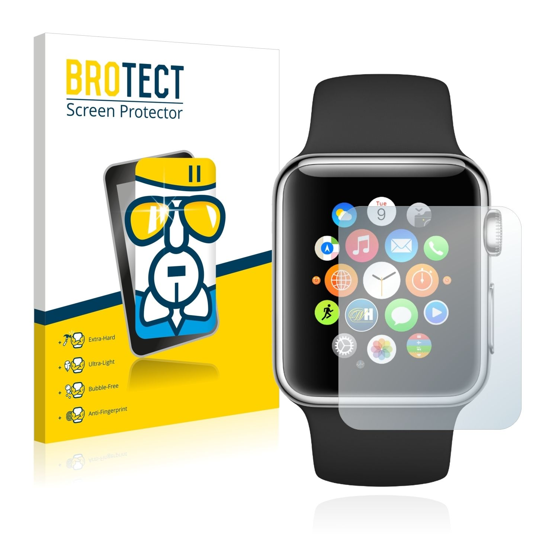 Extra tvrzená ochranná fólie (tvrzené sklo) AirGlass Brotec na LCD pro Apple Watch (42mm)