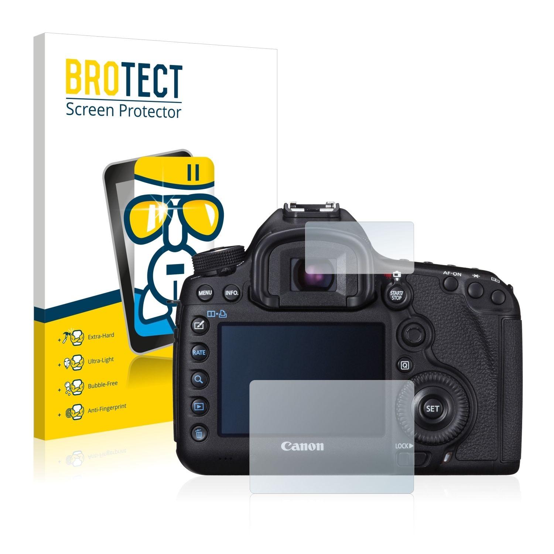 Extra tvrzená ochranná fólie (tvrzené sklo) AirGlass Brotec na LCD pro Canon EOS 5D Mark III