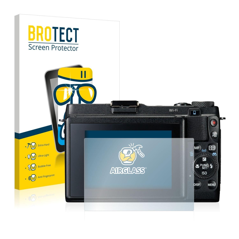 Extra tvrzená ochranná fólie (tvrzené sklo) AirGlass Brotec na LCD pro Canon Powershot G1 X Mark II