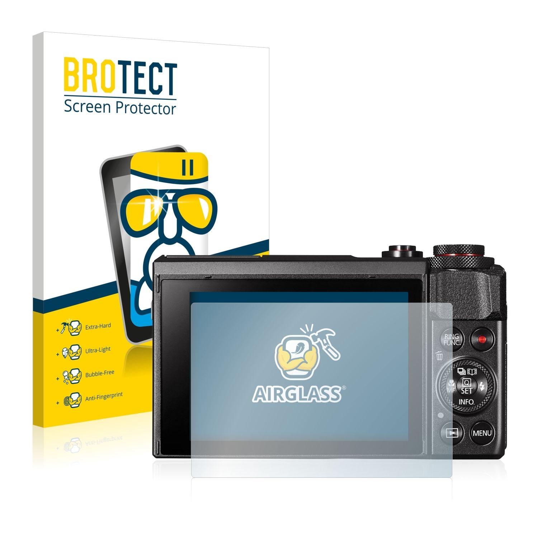 Extra tvrzená ochranná fólie (tvrzené sklo) AirGlass Brotec na LCD pro Canon Powershot G7 X Mark II