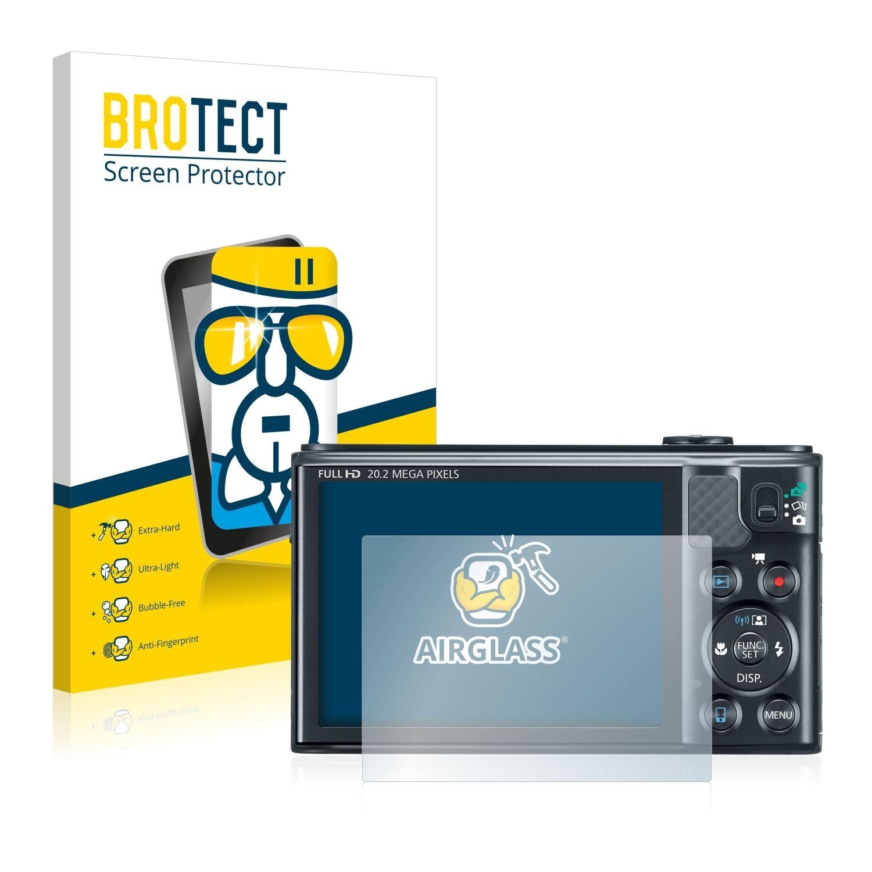 Extra tvrzená ochranná fólie (tvrzené sklo) AirGlass Brotec na LCD pro Canon PowerShot SX610 HS