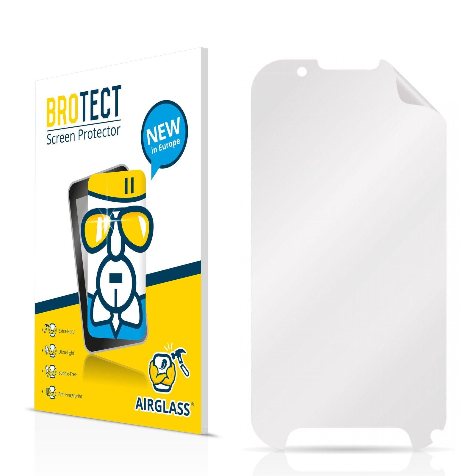 Extra tvrzená ochranná fólie (tvrzené sklo) AirGlass Brotec na LCD pro Evolveo StrongPhone D2