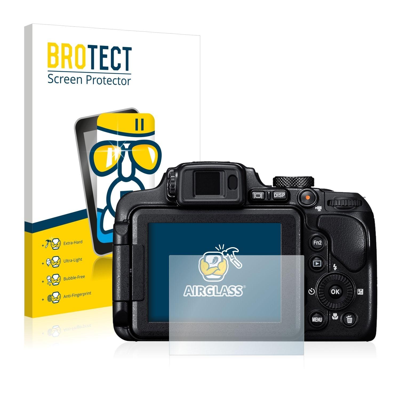 Extra tvrzená ochranná fólie (tvrzené sklo) AirGlass Brotec na LCD pro Nikon Coolpix B700
