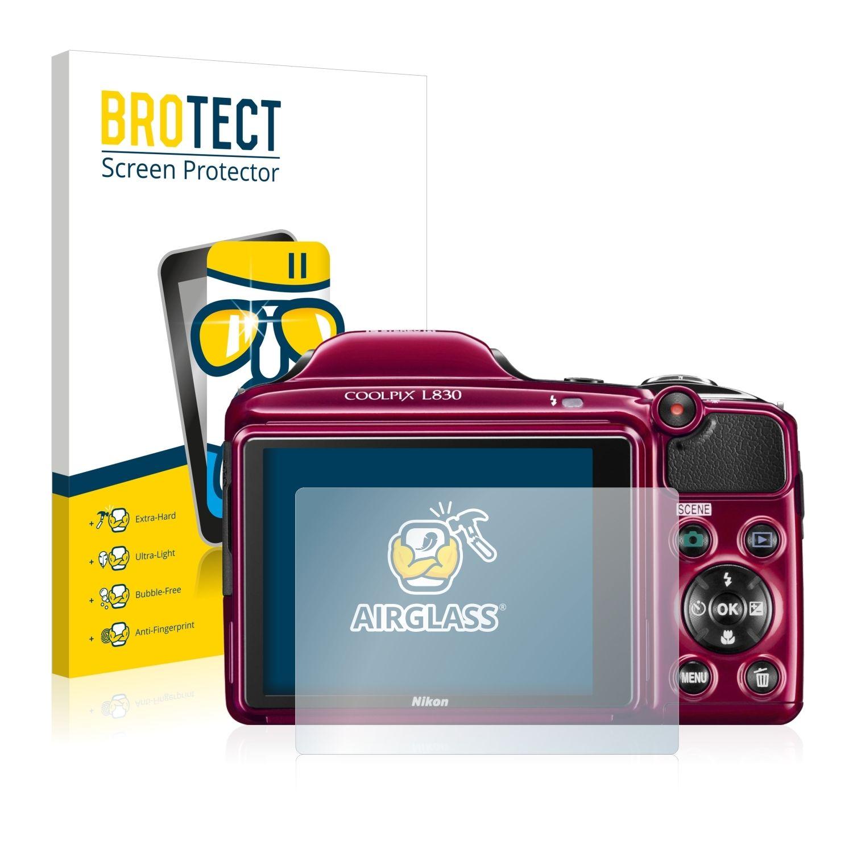 Extra tvrzená ochranná fólie (tvrzené sklo) AirGlass Brotec na LCD pro Nikon Coolpix L830