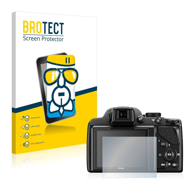 Extra tvrzená ochranná fólie (tvrzené sklo) AirGlass Brotec na LCD pro Nikon Coolpix P530