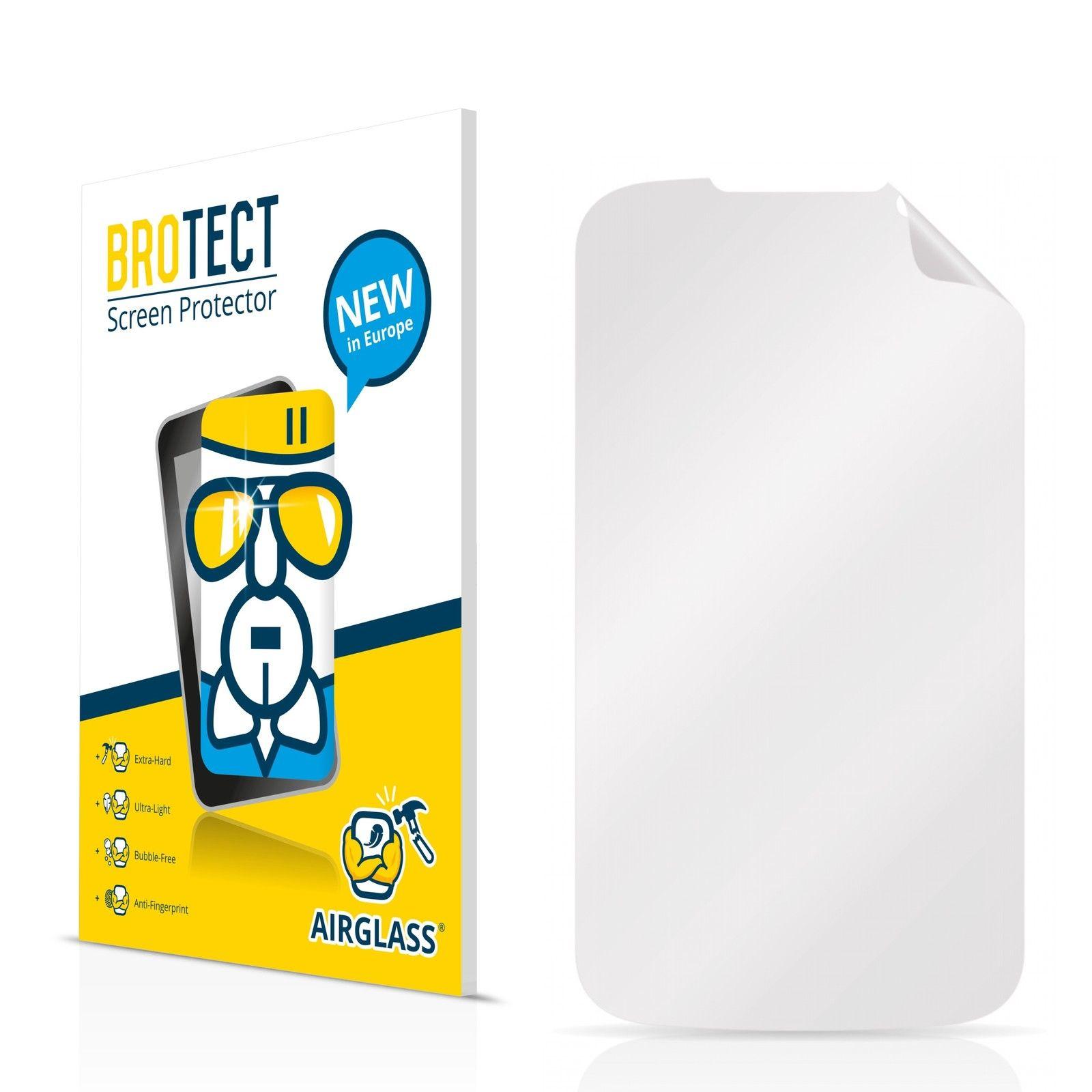 Extra tvrzená ochranná fólie (tvrzené sklo) AirGlass Brotec na LCD pro Prestigio MultiPhone 3400 DUO