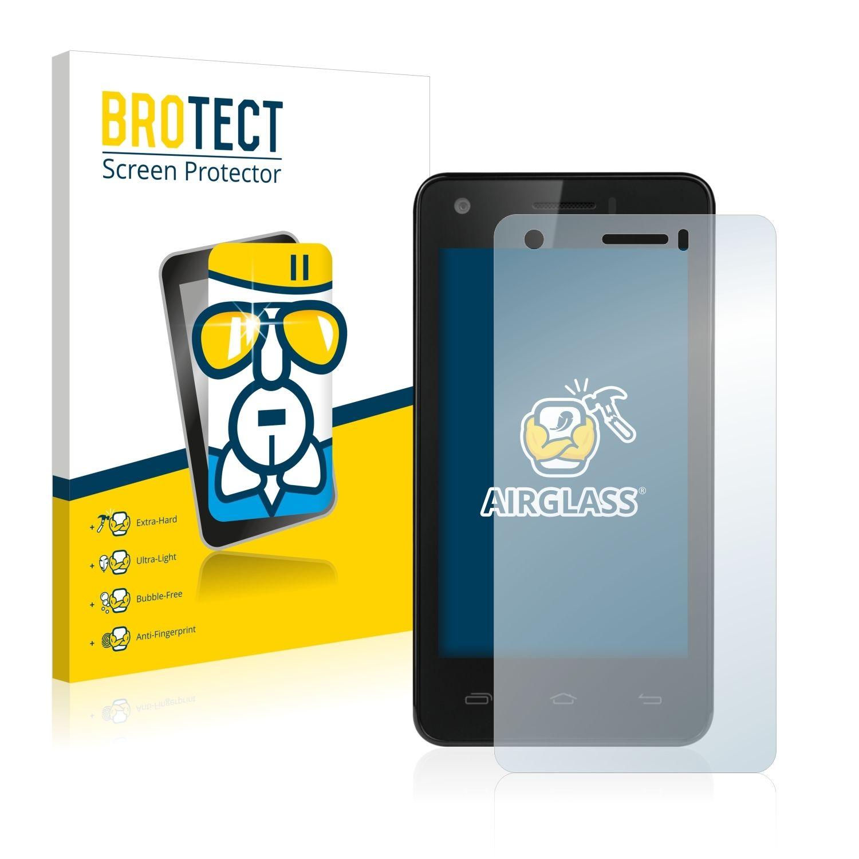 Extra tvrzená ochranná fólie (tvrzené sklo) AirGlass Brotec na LCD pro Prestigio MultiPhone 3405 DUO