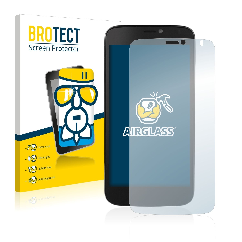 Extra tvrzená ochranná fólie (tvrzené sklo) AirGlass Brotec na LCD pro Prestigio MultiPhone 3502 DUO
