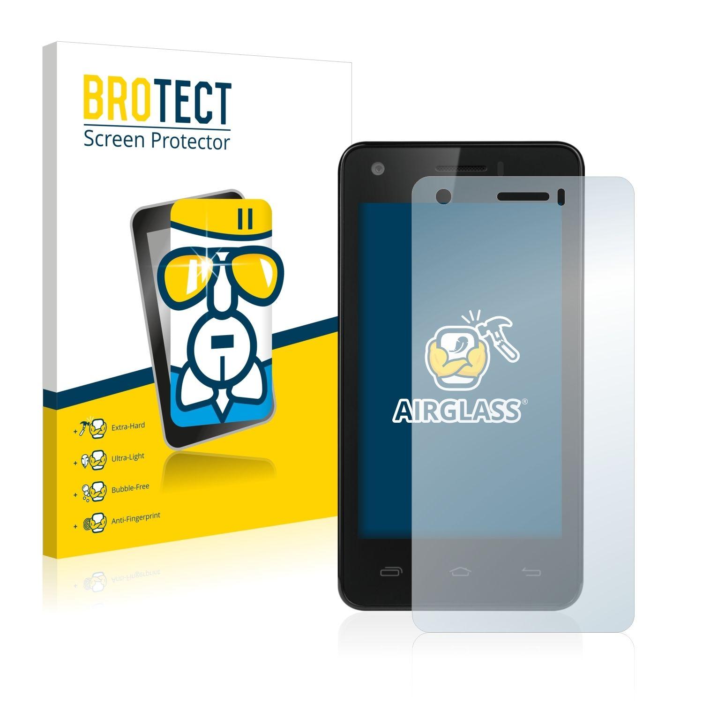 Extra tvrzená ochranná fólie (tvrzené sklo) AirGlass Brotec na LCD pro Prestigio MultiPhone 5454 DUO