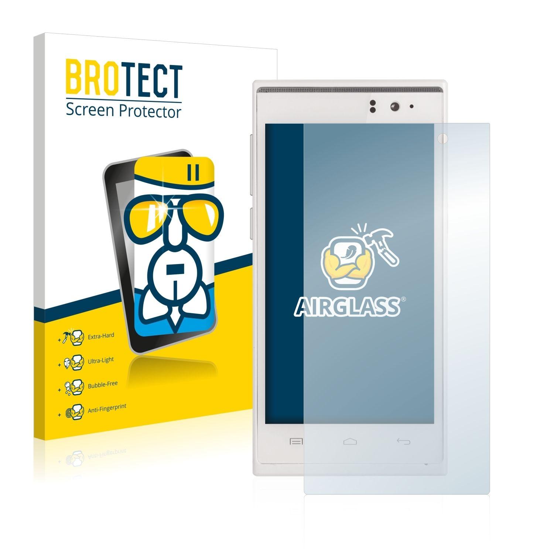Extra tvrzená ochranná fólie (tvrzené sklo) AirGlass Brotec na LCD pro Prestigio MultiPhone 5455 DUO