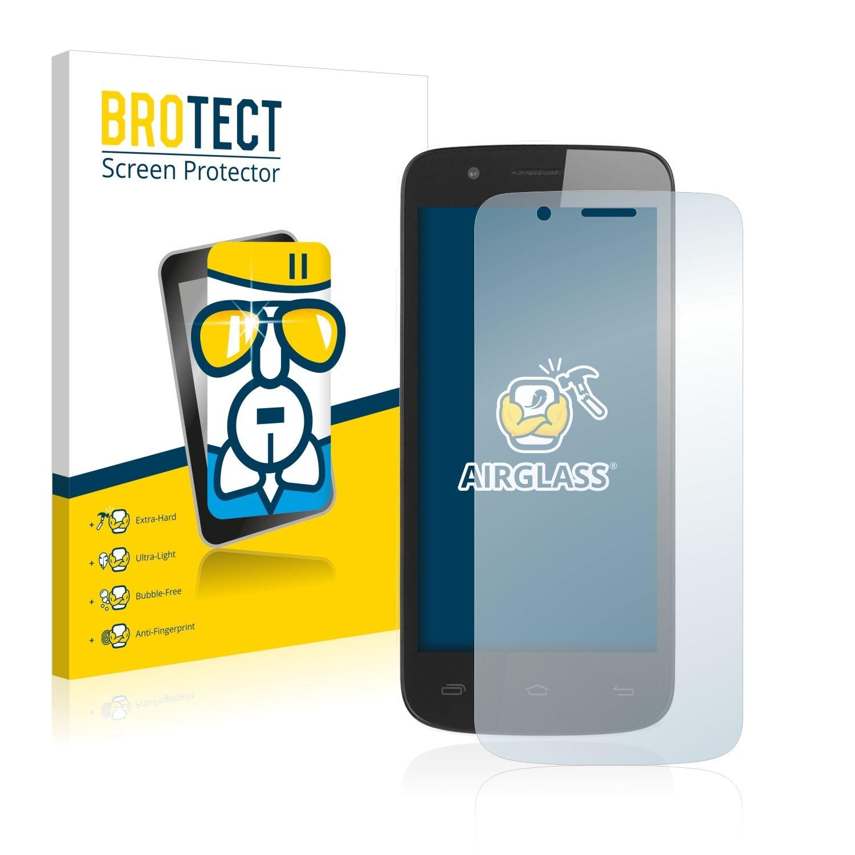 Extra tvrzená ochranná fólie (tvrzené sklo) AirGlass Brotec na LCD pro Prestigio MultiPhone 5504 DUO