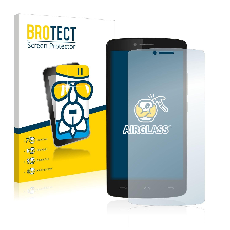 Extra tvrzená ochranná fólie (tvrzené sklo) AirGlass Brotec na LCD pro Prestigio MultiPhone 5550 DUO