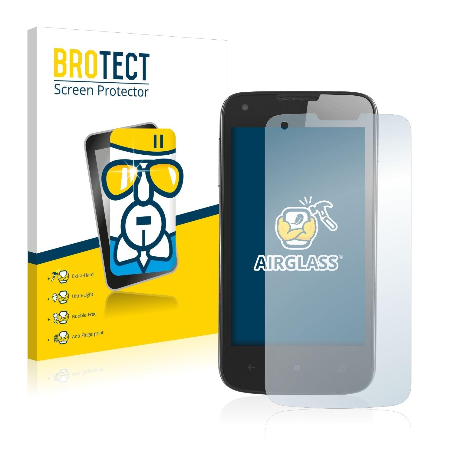 Extra tvrzená ochranná fólie (tvrzené sklo) AirGlass Brotec na LCD pro Prestigio MultiPhone 8400 DUO