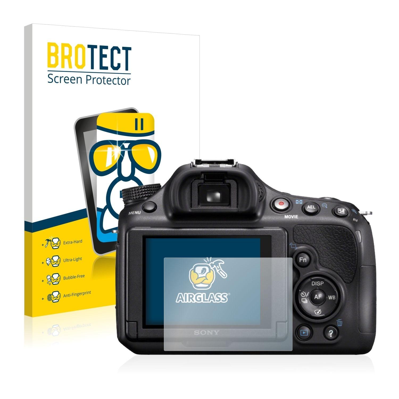 Extra tvrzená ochranná fólie (tvrzené sklo) AirGlass Brotec na LCD pro Sony Alpha 58 (SLT-A58)
