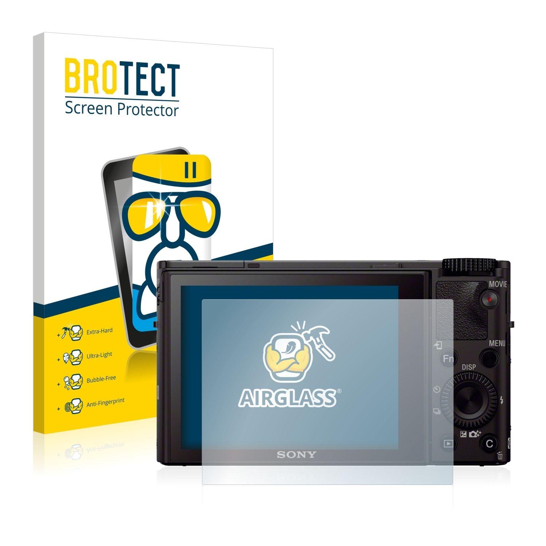 Extra tvrzená ochranná fólie (tvrzené sklo) AirGlass Brotec na LCD pro Sony Cyber-Shot DSC-RX100 III