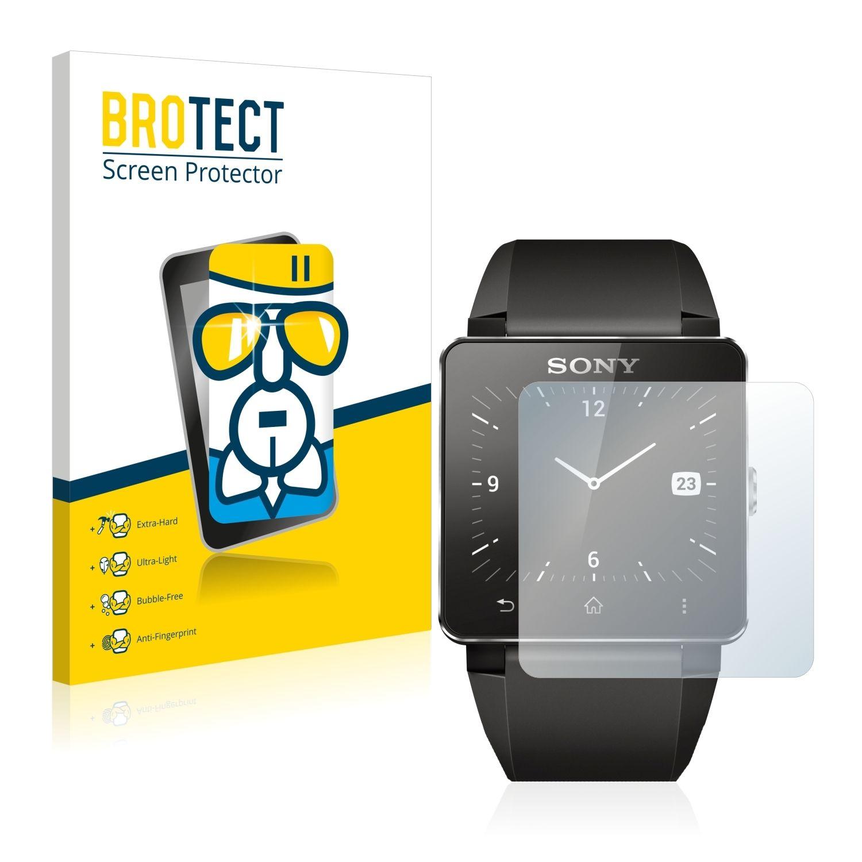 Extra tvrzená ochranná fólie (tvrzené sklo) AirGlass Brotec na LCD pro Sony Smartwatch 2