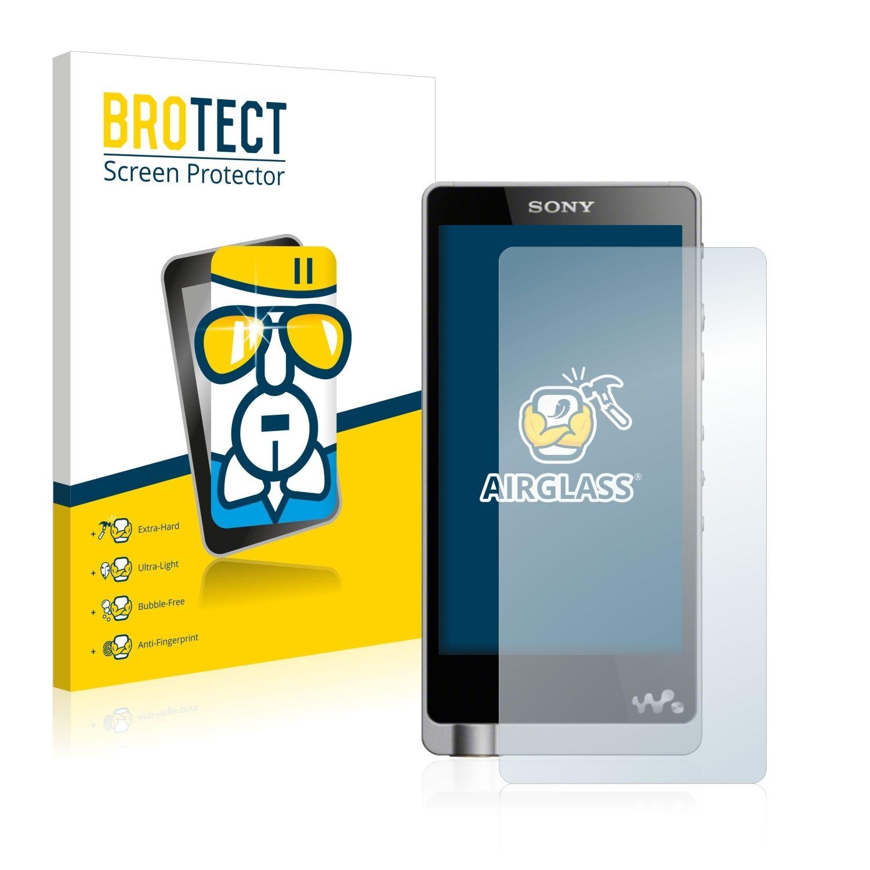 Extra tvrzená ochranná fólie (tvrzené sklo) AirGlass Brotec na LCD pro Sony Walkman NWZ-ZX1
