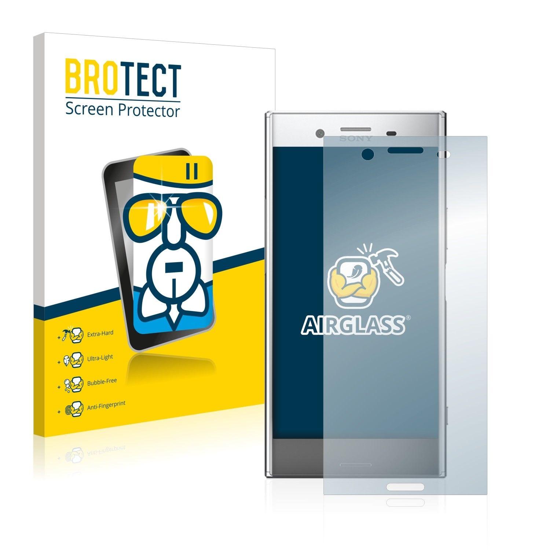 Extra tvrzená ochranná fólie (tvrzené sklo) AirGlass Brotec na LCD pro Sony Xperia XZ Premium