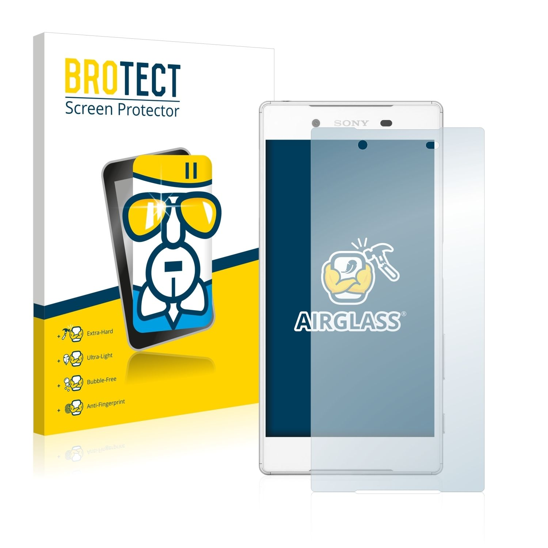Extra tvrzená ochranná fólie (tvrzené sklo) AirGlass Brotec na LCD pro Sony Xperia Z5 (E6603)