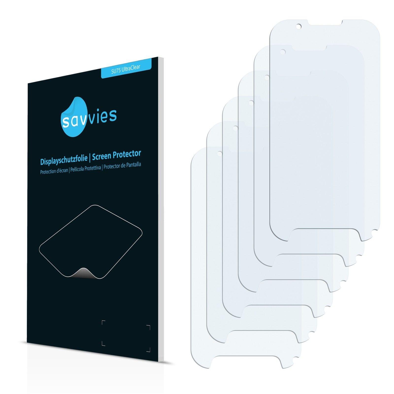 6 ks Ochranná fólie na LCD displej pro Evolveo StrongPhone D2